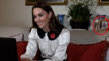 Revealing detail spotted in Kate's Remembrance Day appearance