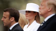 Melania Trump's Massive White Hat Has Caused Quite the Stir