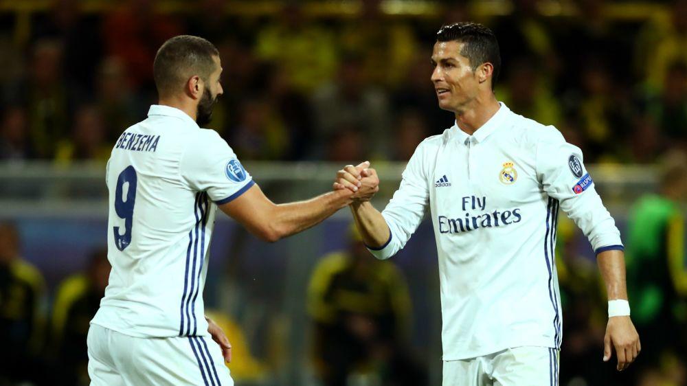 """Benzema: """"Cristiano Ronaldo é mais egoísta do que eu"""""""