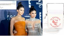 Kendall and Kylie Jenner accused of cultural appropriation over 'Chinese takeout' bag
