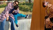 韓國媽媽的時尚穿搭:韓國女星、網紅年輕的親子裝推薦!