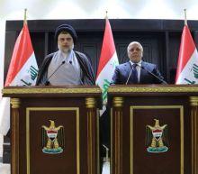 Cleric Sadr meets Iraq PM Abadi, hinting at coalition