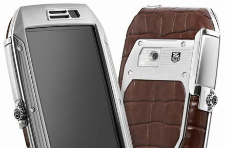 TAG Heuer outs $6,700 Link Phone for those who like alligator skin with their Froyo (video)