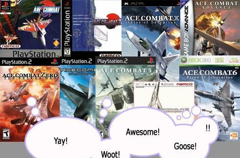 Ace Combat series soars past 10 million copies sold