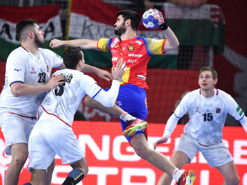 dänemark spanien handball