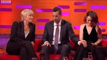 Claire Foy defends Adam Sandler following 'awkward' Graham Norton interview
