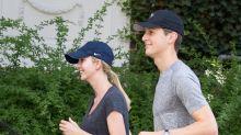 Ivanka Trump and Jared Kushner Go for a Jog in Washington D.C.
