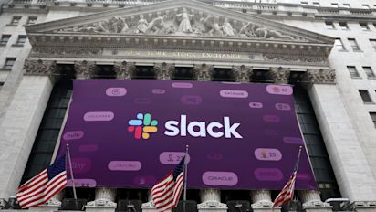 Slack debuts on the NYSE