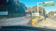 Driver slammed over 'very stupid' act on safety ramp