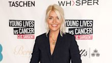 Holly Willoughby dresses seasonally in autumnal dress - but fans are left divided