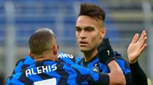 Reeling Inter end Sassuolo's unbeaten start to go second