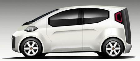 Bee.One electric car to be tiny, cheap, and cute