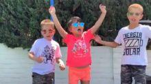 Filhos de Pedro Scooby criam rap para o pai com a ajuda de Anitta