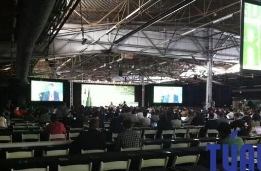 As seen at TechCrunch Disrupt New York 2011, part one