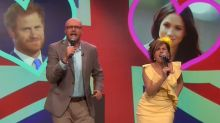 Will Ferrell and Molly Shannon tease the Royal Wedding