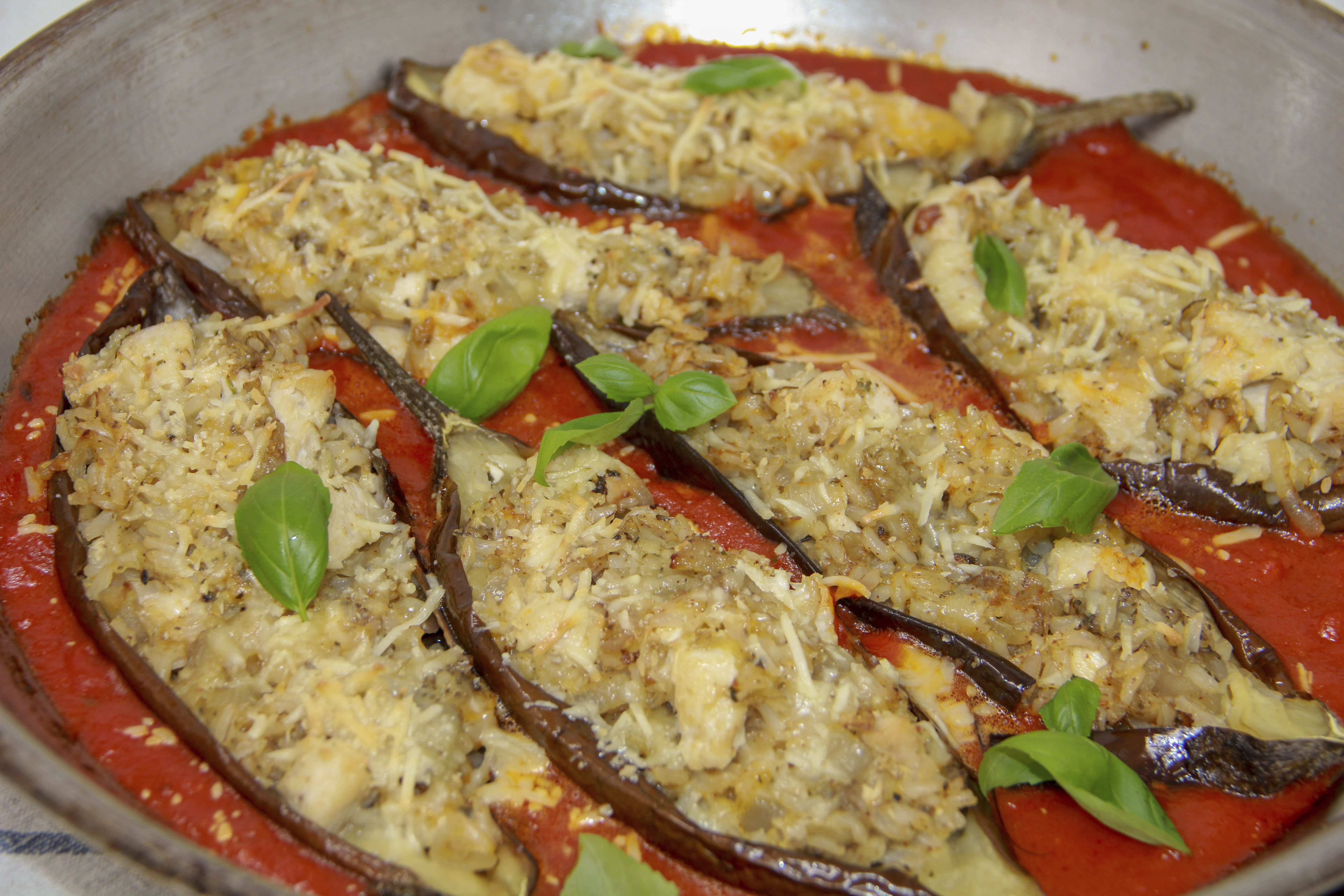 Try this eggplant and chicken marinara a one dish wonder for One dish wonders recipes