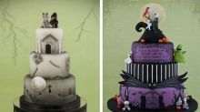Just in Time for Halloween: Tim Burton Wedding Cakes