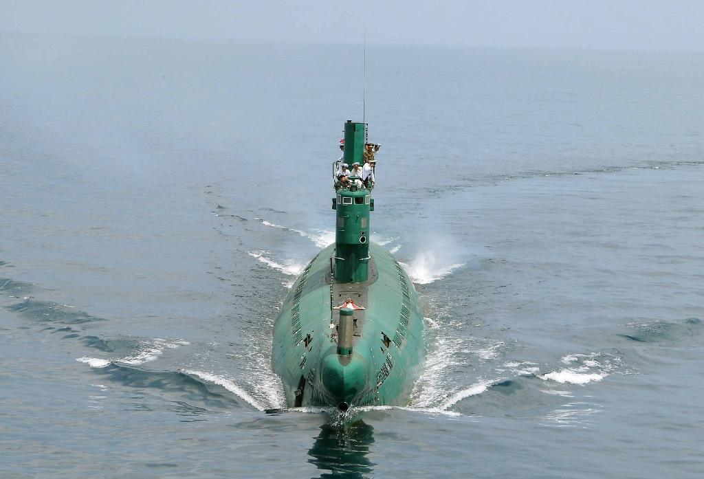 North Korea's small submarine fleet is comprised of largely obsolete Soviet-era and modified Chinese vessels (AFP Photo/)