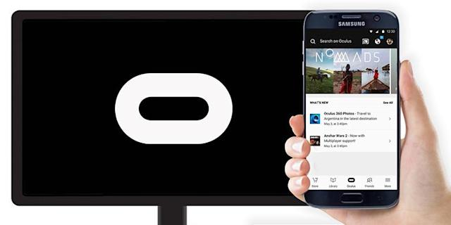 Gear VR streams to your TV thanks to Google Cast