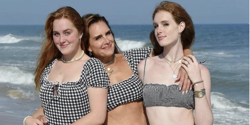 Photo of Brooke Shields, 56, And Her Daughters Are Twinning In New Instagram Photo