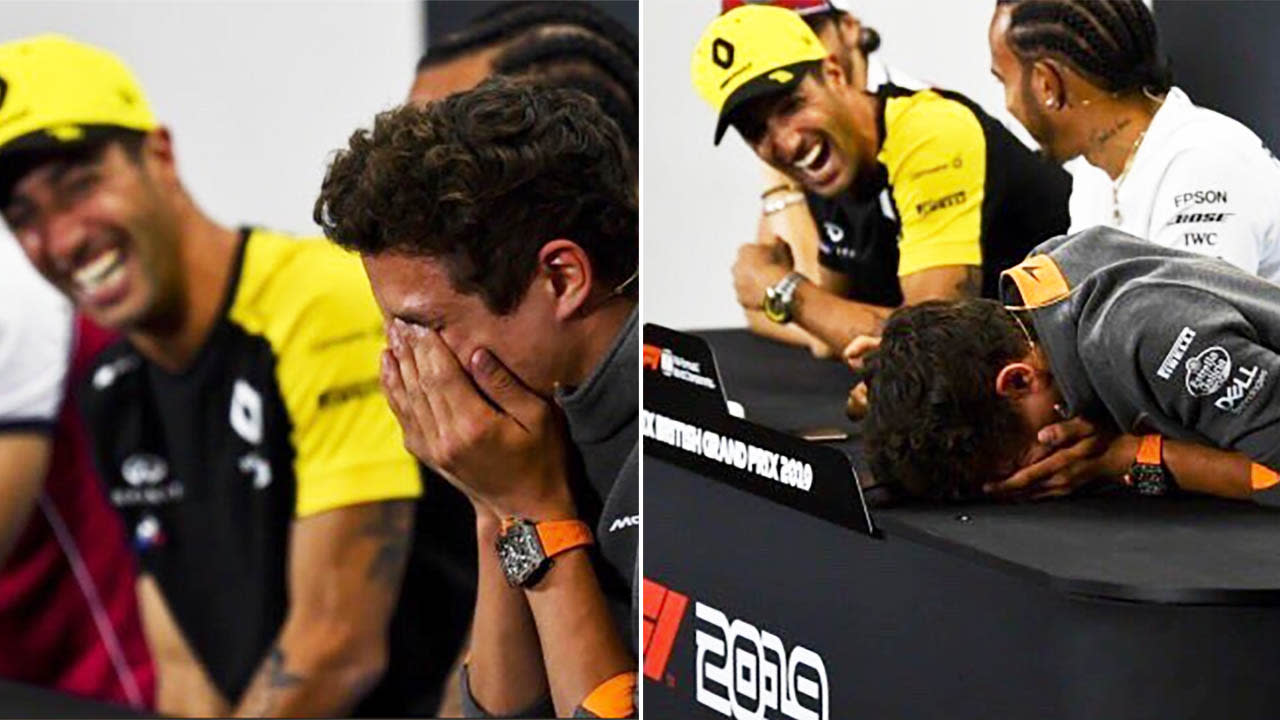 Daniel Ricciardo brings rival to tears with brutal press conference joke