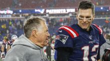 Tom Brady shades Bill Belichick's former team while discussing coach's 300th win