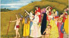 Did Lord Krishna point at Eid moon? Twitterati divided