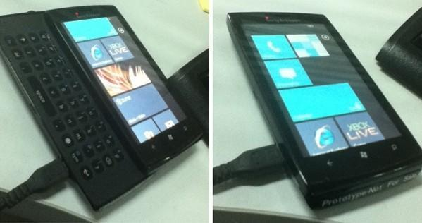Sony Ericsson Windows Phone 7 device said to be just an 'old prototype'