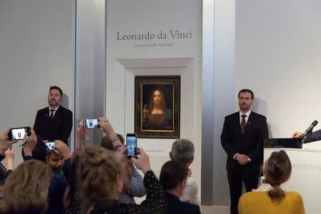 Abu Dhabi to acquire Leonardo da Vinci's 'Salvator Mundi
