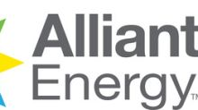 Alliant Energy Corporation Announces Public Offering of $195.6 Million of Shares of Common Stock