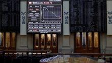El IBEX 35 no consigue alcanzar los 9.500 puntos a mediodía al caer el 0,38 %