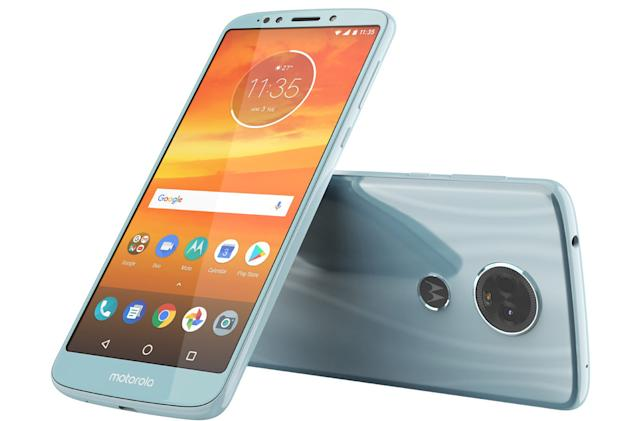 Motorola's low-cost E5 Plus may pack a big screen in a sleeker body