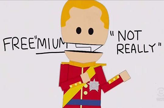South Park skewers 'freemium' games