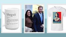 'Megxit' merchandise inspired by Meghan Markle and Prince Harry's royal split