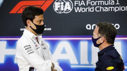Fórmula 1. La Guerra Fría entre Mercedes y Red Bull: el turno de los jefes