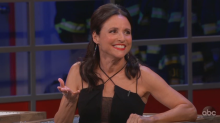 Julia Louis-Dreyfus had others in mind when she opened up about her breast cancer