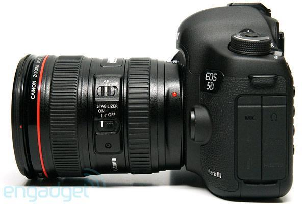 Canon updates 5D Mark III firmware, concedes it won't get continuous autofocus for video