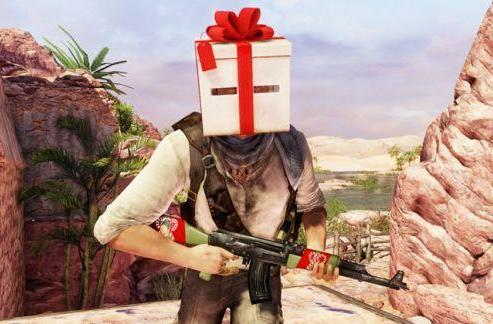 Uncharted 3 multiplayer celebrates the holidays with free items and map
