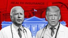 Here's where Trump and Biden stand on COVID-19, other health-care issues