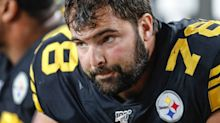 An Army veteran broke ranks with his Pittsburgh Steelers teammates by putting the name of a fallen soldier on his helmet instead of a police brutality victim, and it caught some of them off-guard