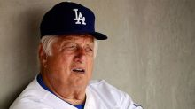 Tommy Lasorda Mural Has Started To Go Up In Los Angeles