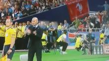 No te puedes perder lo que ocurrió detrás de Zidane tras el gol anulado al Madrid