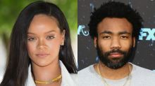 Rihanna and Shirtless Donald Glover Pose Together in Mysterious Photo -- And Fans Are Wondering Why!
