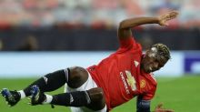 Foot - C3 - MU - Paul Pogba sorti à la mi-temps de Manchester United-Grenade en Ligue Europe