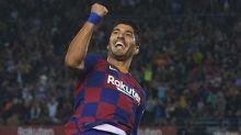Setien hails Suarez after reaching Barca landmark