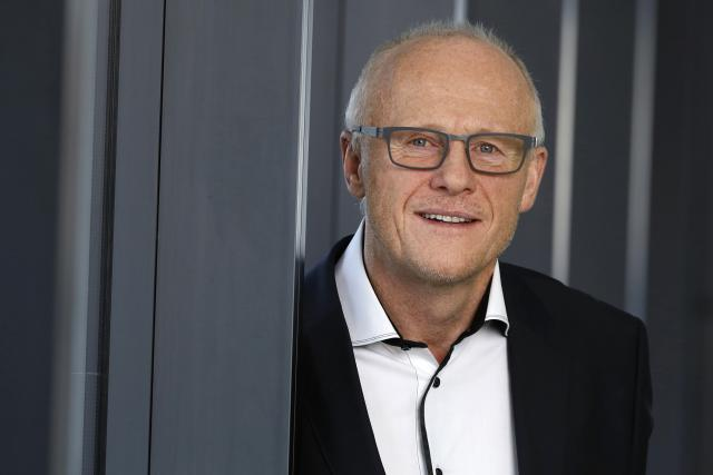 John Caudwell, billionaire and founder of Phones4U Ltd., poses for a photograph following a Bloomberg Television interview in London, U.K., on March 2, 2016.