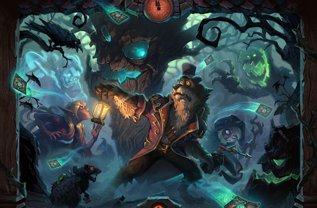 First 'Hearthstone' expansion of 2018 delves into 'The Witchwood'