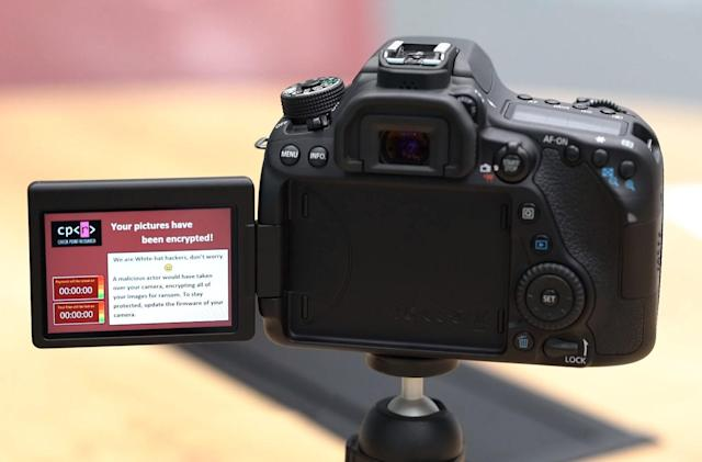 Even DSLR cameras are vulnerable to ransomware