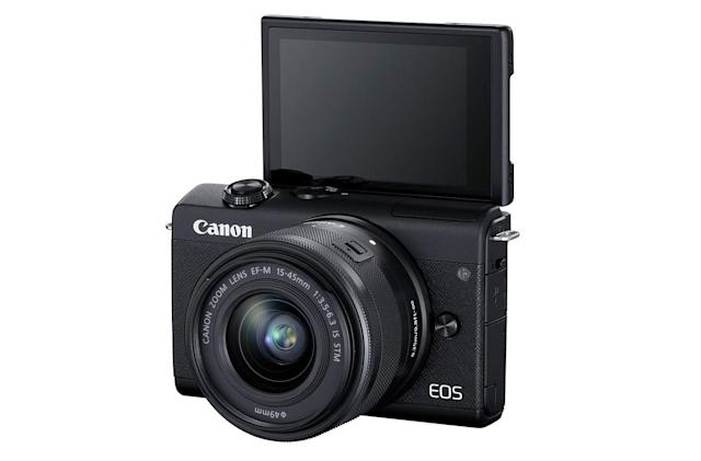 Canon unveils the EOS M200 with 4K video and eye-detect AF
