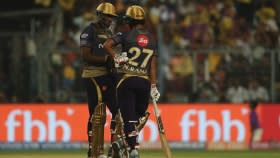 Twitter Lauds Russell & Rana For Their Unreal Effort Against RCB